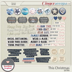 This Christmas - extra by HeartMade Scrapbook
