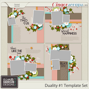 Duality #1 Templates Set by Aimee Harrison