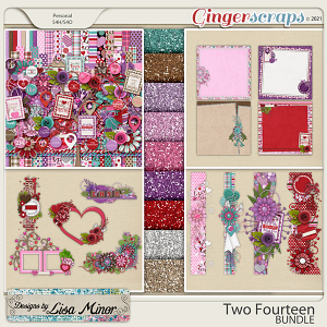 Two Fourteen BUNDLE from Designs by Lisa Minor