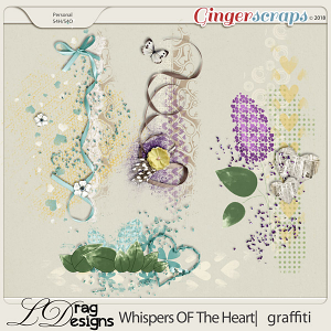 Whispers Of The Heart: Graffiti by LDragDesigns