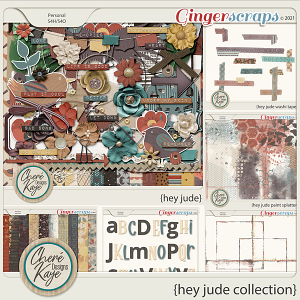 Hey Jude Collection by Chere Kaye Designs