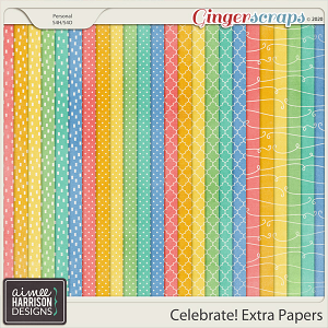 Celebrate Extra Papers by Aimee Harrison