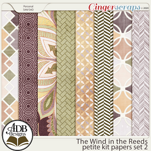 The Wind in the Reeds Papers Set 02 by ADB Designs