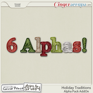 Retiring Soon - Holiday Traditions - Alpha Pack AddOn