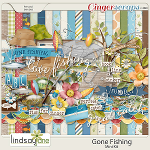 Gone Fishing by Lindsay Jane