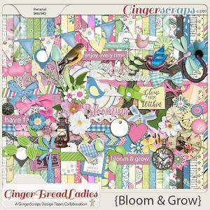 GingerBread Ladies Collab: Bloom & Grow