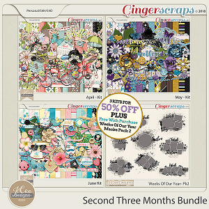 Second Three Months Bundle PLUS Free With Purchase by JoCee Designs