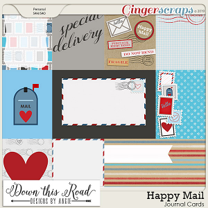 Happy Mail Journal Cards