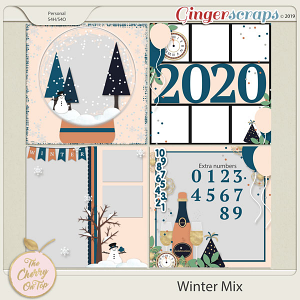 The Cherry On Top Winter Mix Templates