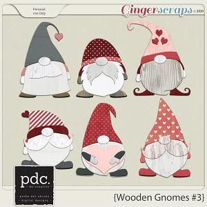 Polka Dot Chicks: Wooden Gnomes #3