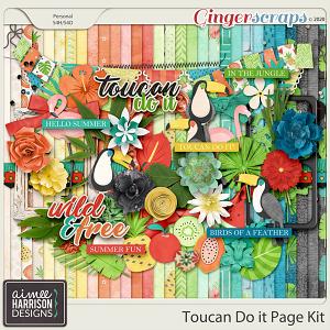 Toucan Do It Page Kit by Aimee Harrison