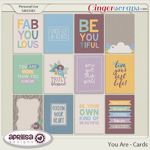 You Are - Cards by Aprilisa Designs