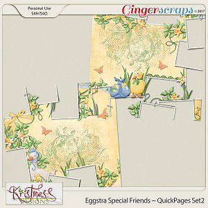 Eggstra Special Friends QuickPages Set2