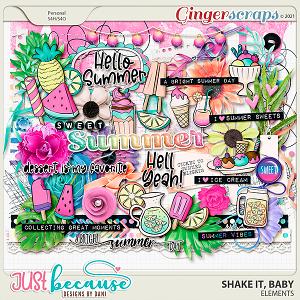 Shake It Baby Elements by JB Studio