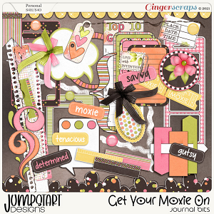 Get Your Moxie On {Journal Bits}