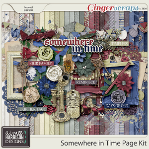 Somewhere in Time Page Kit by Aimee Harrison