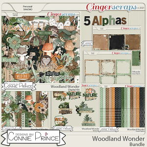 Woodland Wonder - Bundle by Connie Prince