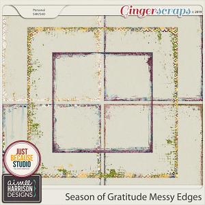 Season of Gratitude Messy Edges by Aimee Harrison and JB Studio