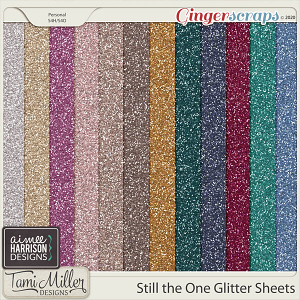 Still the One Glitter Sheets by Aimee Harrison and Tami Miller