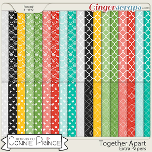 Together Apart - Extra Papers by Connie Prince