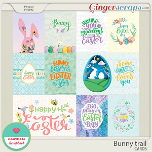 Bunny trail - cards