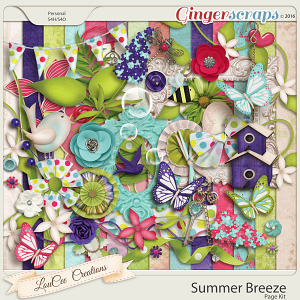Summer Breeze Page Kit