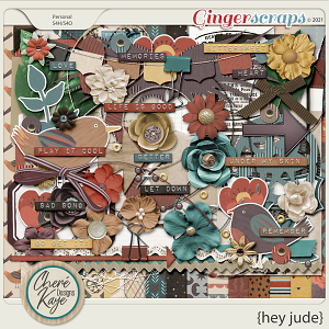 Hey Jude by Chere Kaye Designs