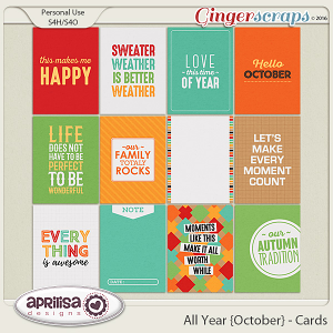 All Year {October} - Cards