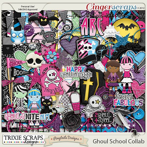 Ghoul School Collab Kit by Trixie Scraps & Ponytails Designs