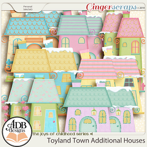 Toyland Town Additional Houses by ADB Designs