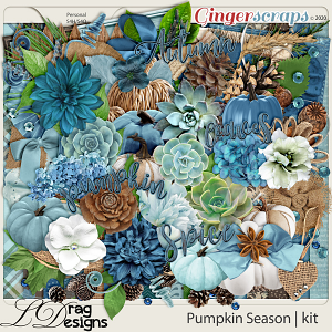 Pumpkin Season by LDragDesigns