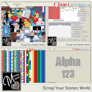Scrap Your Stories - Work by Memory Mosaic