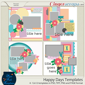 Happy Days Templates by Miss Fish