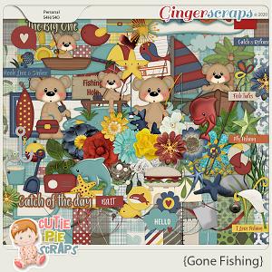 Gone Fishing Page Kit