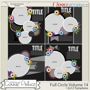 Full Circle Volume 14 - 12x12 Temps (CU Ok) by Connie Prince