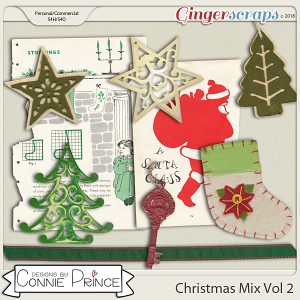 Commercial Use Christmas Mix Vol 2 - by Connie Prince