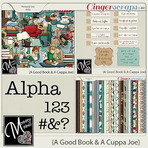 A Good Book & A Cuppa Joe by Memory Mosaic