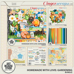 Homemade With Love: Gardening Bundle by JB Studio