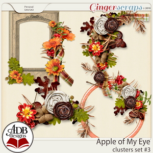 Apple of My Eye Clusters Set #03 by ADB Designs