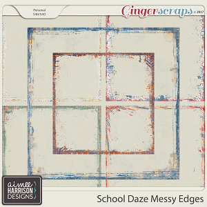 School Daze Messy Edges by Aimee Harrison