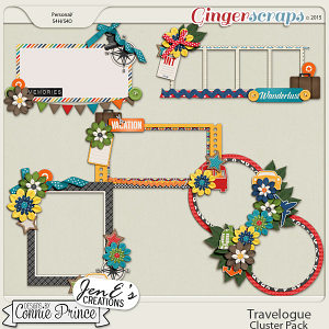 Travelogue - Cluster Pack
