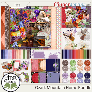 Ozark Mountain Home Bundle by ADB Designs