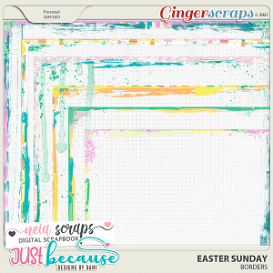 Easter Sunday Borders by JB Studio and Neia Scraps