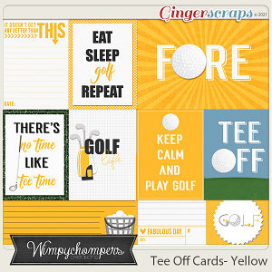 Tee Off- Yellow Cards