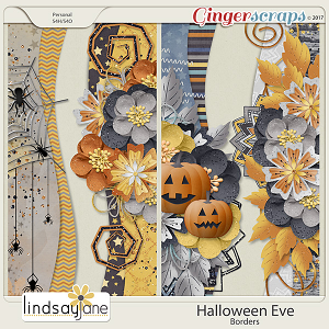 Halloween Eve Borders by Lindsay Jane