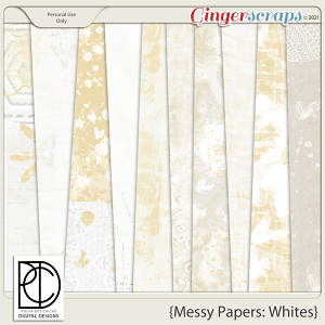 Messy Papers: Whites