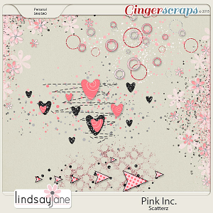 Pink Inc Scatterz by Lindsay Jane