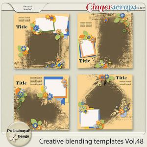 Creative blending templates Vol.48