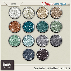 Sweater Weather Glitters by Aimee Harrison
