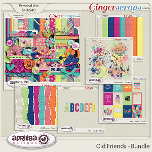 Old Friends - Bundle by Aprilisa Designs